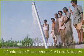Infrastructure Development For Local Villagers